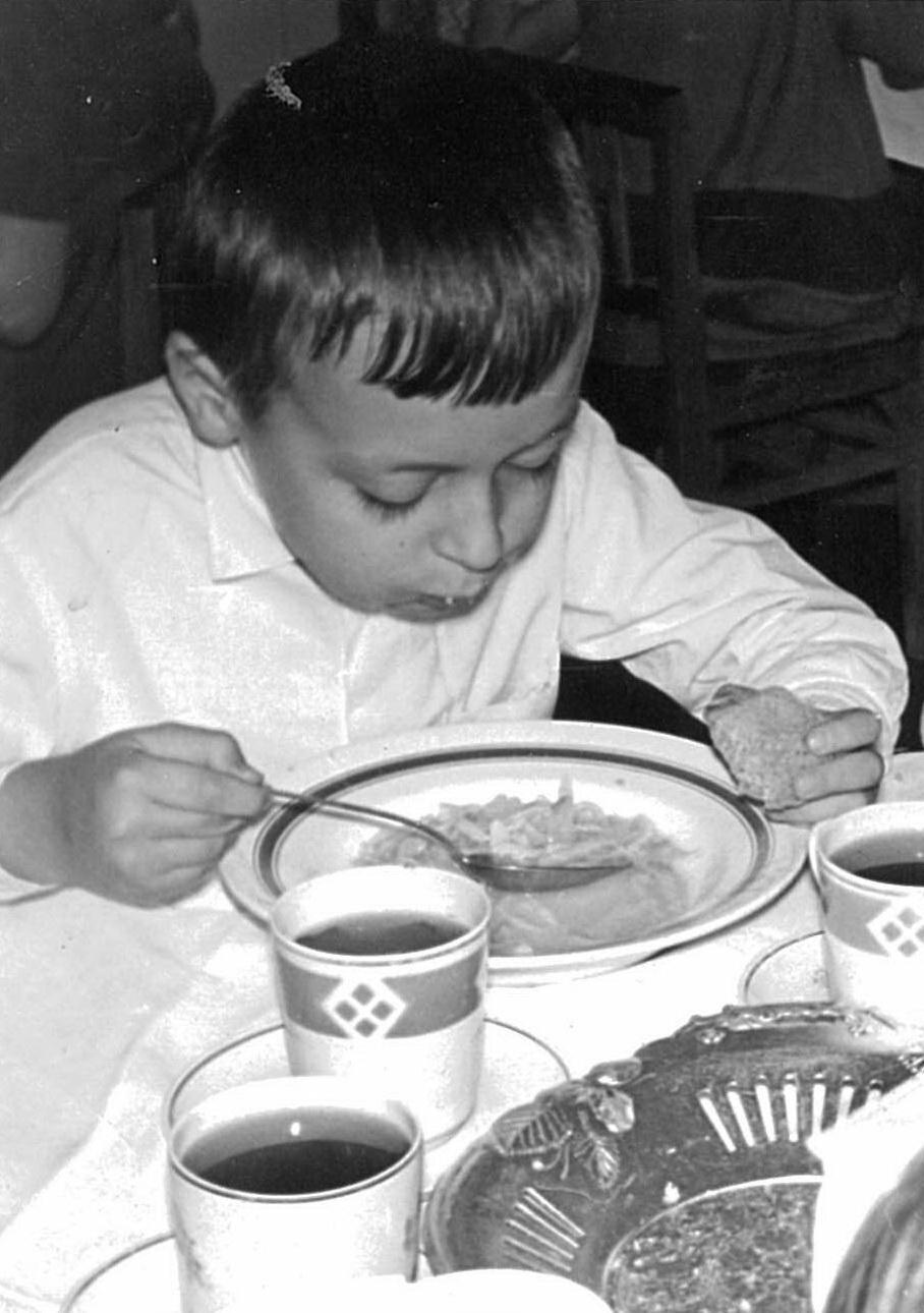 Игорь Латышко в детском саду